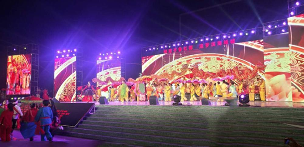 金秋十月祝国庆,福德正神助力齐鲁红都文化节!