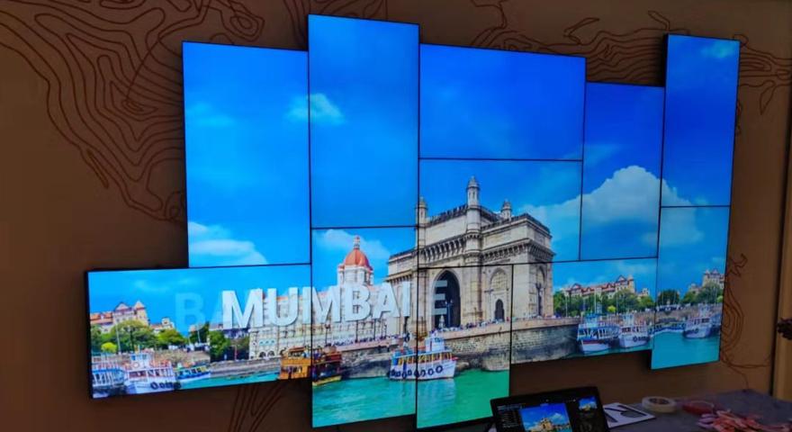 印度孟买某展厅