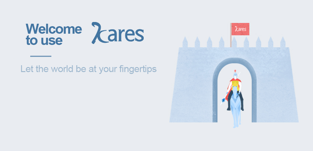 The Kares cloud delivery system   puts the world at your fingertips